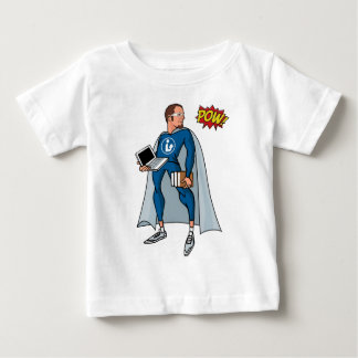 Libraryman with POW! Baby T-Shirt