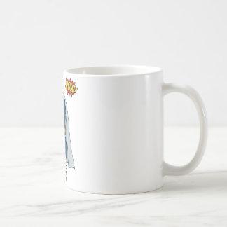 Libraryman with POW! Coffee Mugs