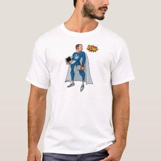 Libraryman with POW! T-Shirt