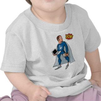 Libraryman with POW! Tshirts
