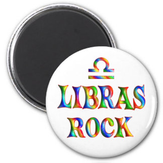 Libras Rock Fridge Magnet