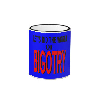 Libre el mundo de la taza del fanatismo