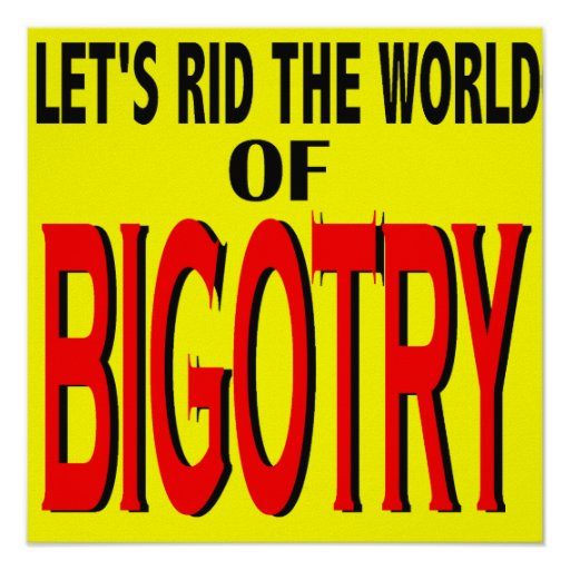 Libre el mundo del poster del fanatismo