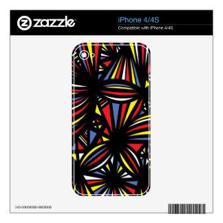 Libre jubiloso del campeón del éxito iPhone 4 skin