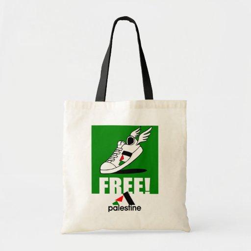 ¡Libre! Palestina Bolsa Tela Barata