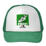 ¡Libre! Palestina Gorros Bordados