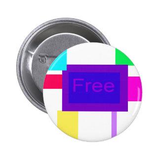 Libre Pin Redondo 5 Cm
