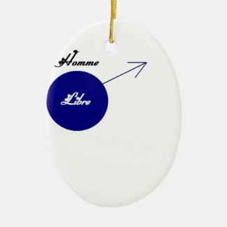 LIBRE.png MAN Ceramic Ornament
