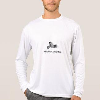 Libre vivo. Paseo duro T Shirts