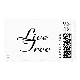 Libre vivo sellos