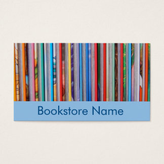 librería tarjeta de negocios