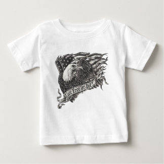 Libres vivos o mueren Eagle Playera De Bebé