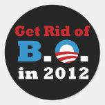 Líbrese de B.O. Stickers Pegatinas