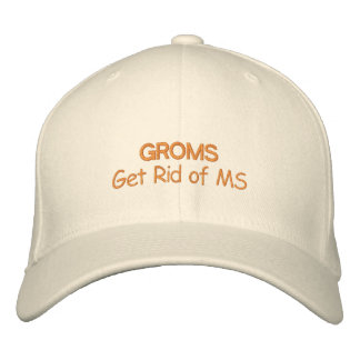 Líbrese de la esclerosis múltiple gorras bordadas