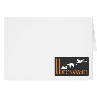 Libreswan products greeting card