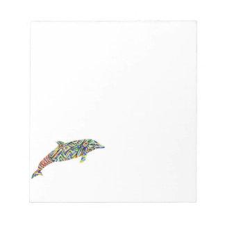 Libreta abstracta del delfín blocs