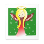 Libreta adorable del ángel bloc de notas