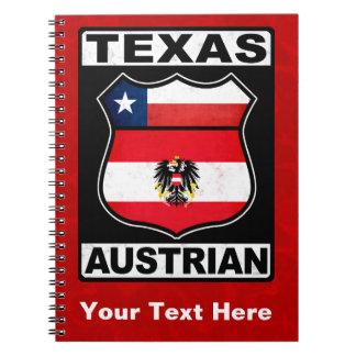 Libreta americana austríaca de Tejas
