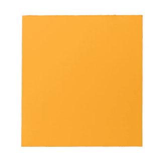 Libreta anaranjada brillante de EZ-C Blocs De Notas