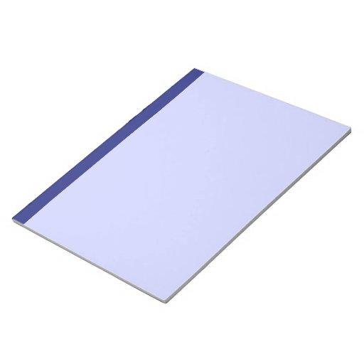 Libreta azul bloc de notas