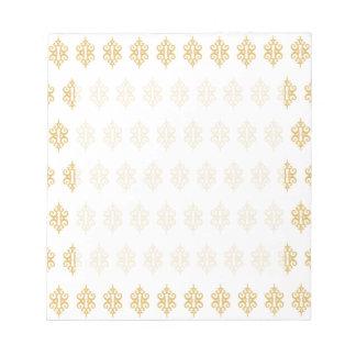 Libreta blanca del cordón libretas para notas