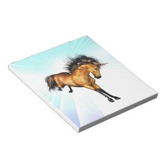 Libreta Bucking del unicornio Libreta Para Notas