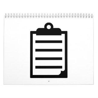 Libreta Calendario De Pared