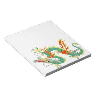 Libreta china del dragón blocs de notas