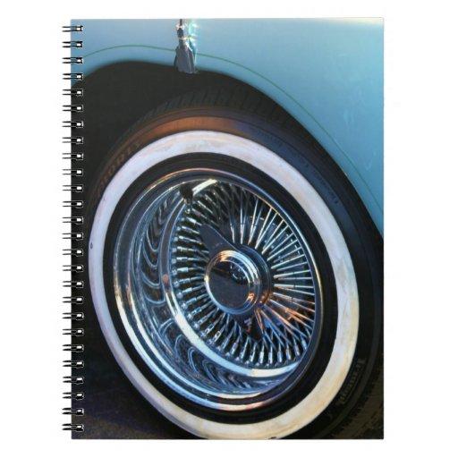 Libreta clásica del coche