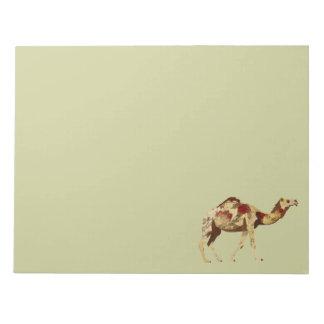 Libreta color de rosa del camello bloc de notas