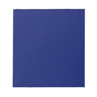 Libreta con el fondo de los azules marinos libreta para notas