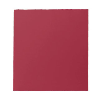 Libreta con el fondo rojo oscuro de Borgoña Bloc