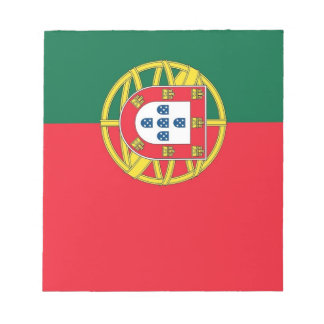 Libreta con la bandera de Portugal Bloc De Papel