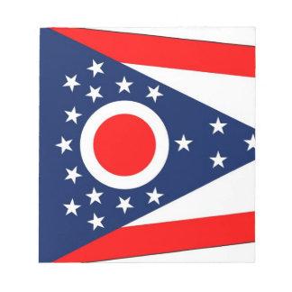 Libreta con la bandera del estado de Ohio Libreta Para Notas