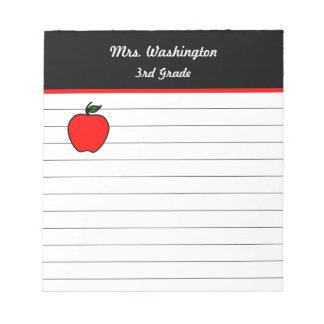 Libreta de Apple del profesor Libretas Para Notas
