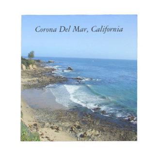 Libreta de Corona del Mar California Libreta Para Notas