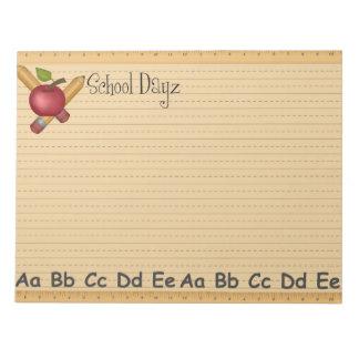 Libreta de Dayz de la escuela grande Bloc