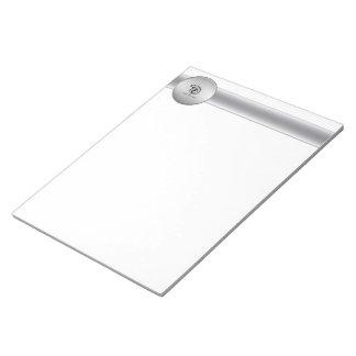 Libreta de encargo del negocio del logotipo blocs de papel
