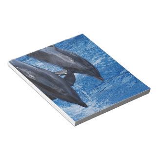 Libreta de la demostración del delfín blocs