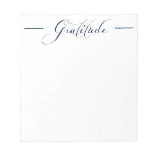 Libreta de la gratitud blocs de notas