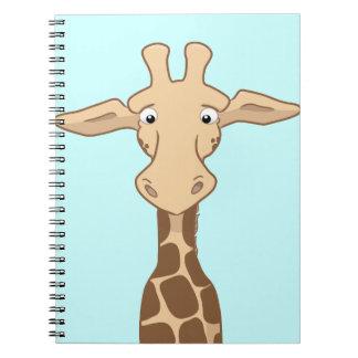 Libreta de la jirafa