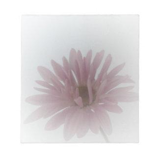 Libreta de la neblina de la margarita blocs de papel