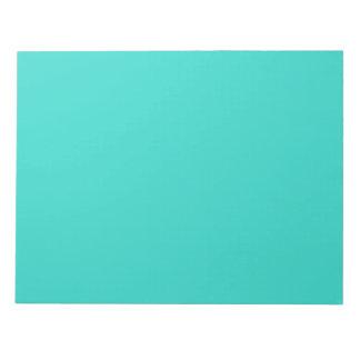 Libreta de la turquesa bloc de papel