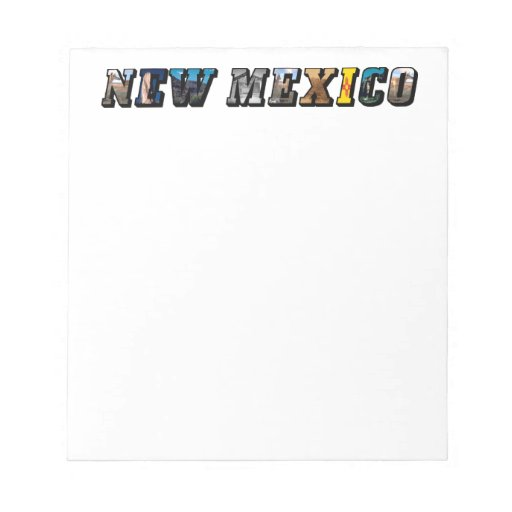 Libreta de New México, los E.E.U.U. Bloc De Notas