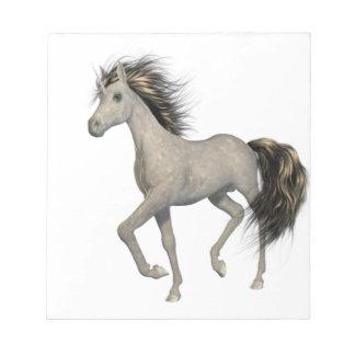 Libreta de oro del unicornio bloc de papel