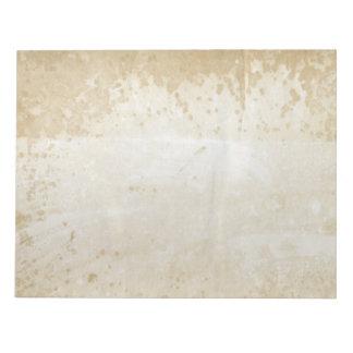 Libreta de papel manchada antigüedad en blanco 180 blocs de notas