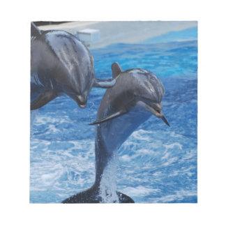 Libreta de salto del delfín bloc de notas