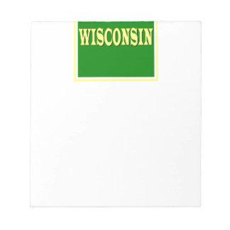 Libreta de Wisconsin LL Bloc De Notas