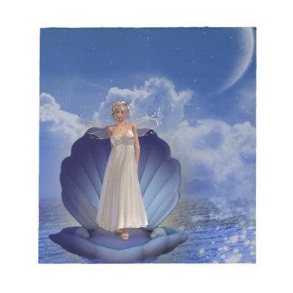 Libreta del ángel del agua bloc de notas