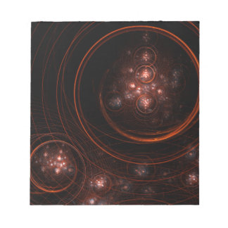 Libreta del arte abstracto de la luz de las estrel bloc de papel